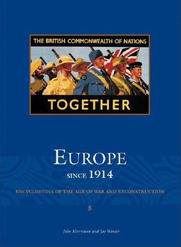 9780684313658: The Scribner Library of Modern Europe: Since 1914