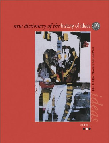 9780684313771: New Dictionary of the History of Ideas (6 Volume Set)