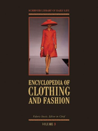 9780684313948: Encyclopedia of Clothing and Fashion
