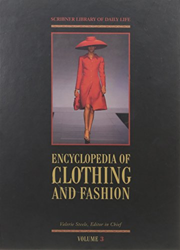 9780684313979: Encyclopedia Of Clothing And Fashion