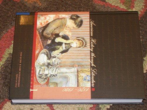 9780684314655: American History through Literature, 1870-1920