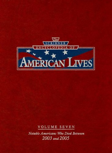 9780684314990: The Scribner Encyclopedia of American Lives