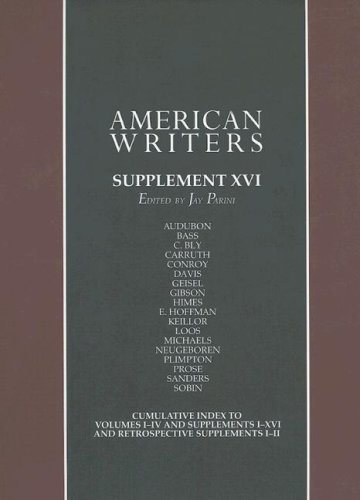 9780684315102: American Writers: Supplement