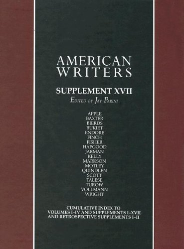 9780684315171: American Writers: Supplement