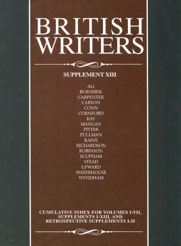 9780684315188: British Writers: Supplement