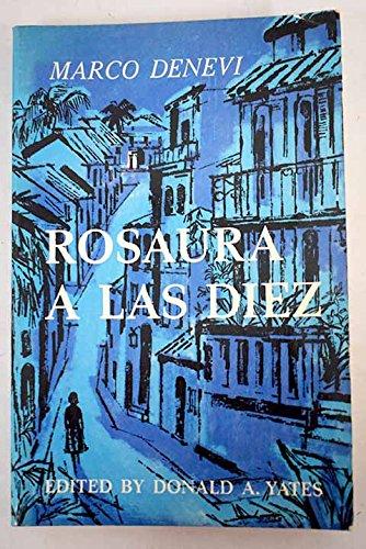 9780684412221: Rosaura A Las Diez (Spanish and English Edition)