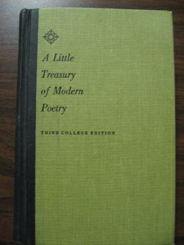 9780684414898: Little Treasury of Modern Poetry: English and American