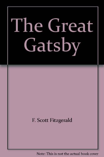 9780684515168: The Great Gatsby