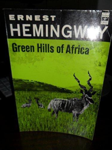 Green Hills of Africa (Soft Cover): Hemingway, Ernest; Edward Shenton (decorations)
