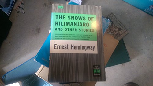 9780684718071: The Snows of Kilimanjaro, and Other Stories