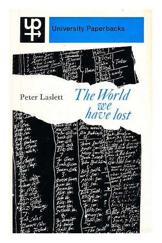 the World We Have Lost: laslett, peter