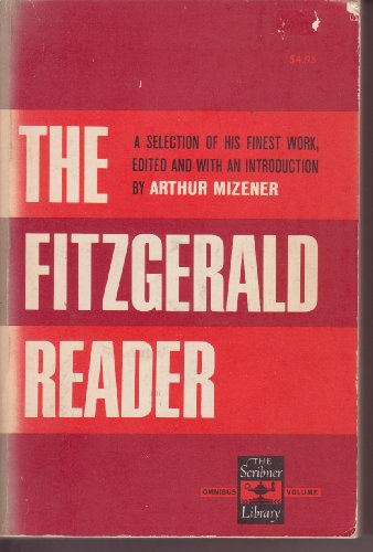 9780684718460: The Fitzgerald Reader