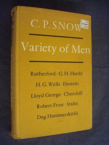 9780684719016: Variety of Men