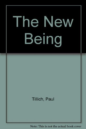 9780684719085: The New Being (New Being SL 20)