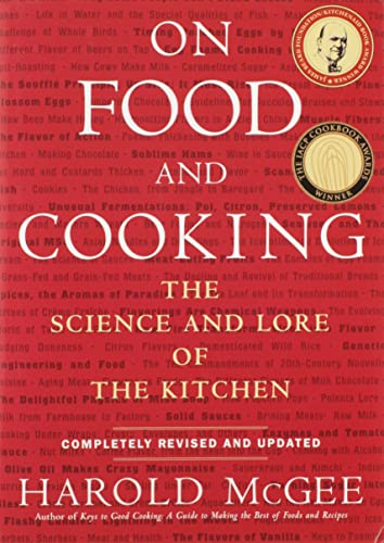 ON FOOD and COOKING: The Science and Lore of the Kitchen (SIGNED)