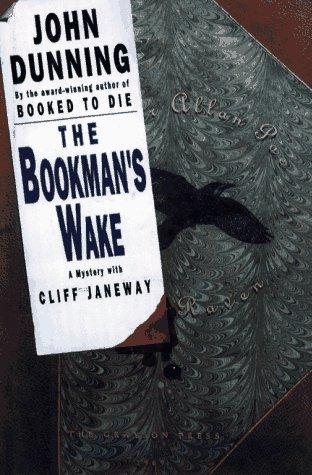 The Bookman's Wake: A Mystery With Cliff Janeway, signed fine first: Dunning, John