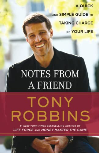 9780684800561: Notes From A Friend: A Quick and Simple Guide to Taking Charge of Your Life