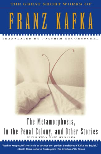 9780684800707: The Metamorphosis, in the Penal Colony and Other Stories: The Great Short Works of Franz Kafka