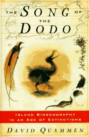 9780684800837: SONG OF THE DODO: Island Biogeography in an Age of Extinctions