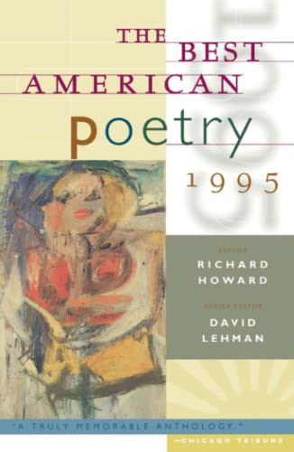 The Best American Poetry 1995 (Paperback)