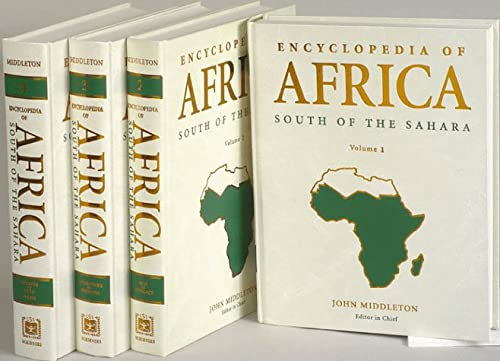 9780684804668: Encyclopedia of Africa: South of the Sahara