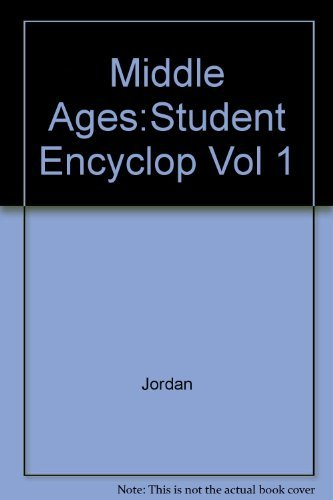 9780684804835: The Middle Ages: An Encyclopedia for Students