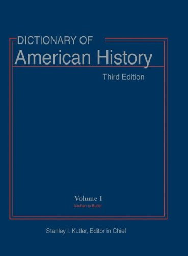 9780684805337: Dictionary of American History, 3rd Edition (10 Volumes)