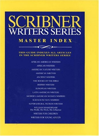 Scribner Writers Series Master Index (Sribner Writers): Misc