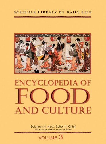 9780684805672: Encyclopedia of Food and Culture: Volume 3: Obesity to Zoroastrianism, Index