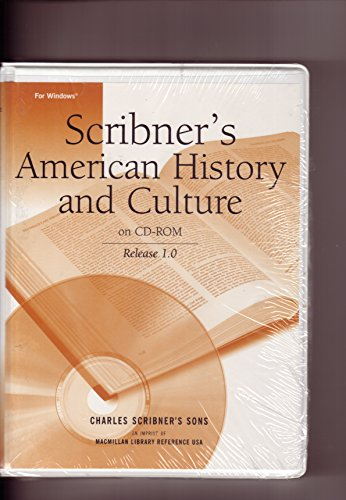 Scribner's American History and Culture on Cd-Rom (0684805847) by SCRIBNER