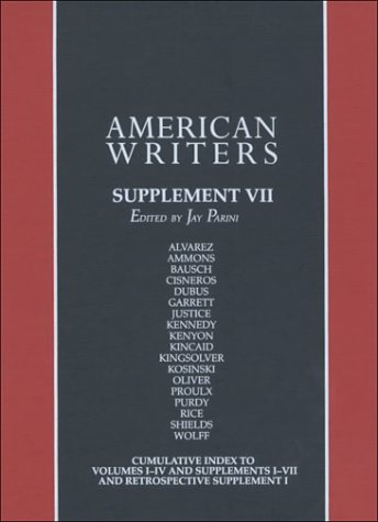 American Writers: Supplement VII