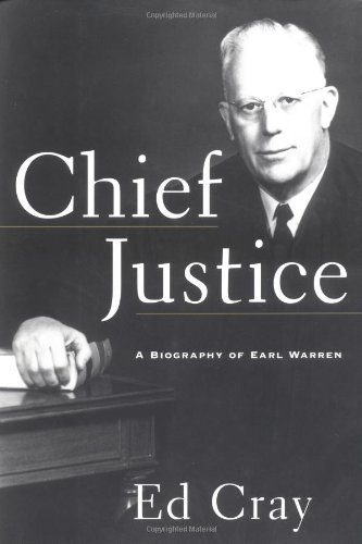 9780684808529: CHIEF JUSTICE: A Biography of Earl Warren