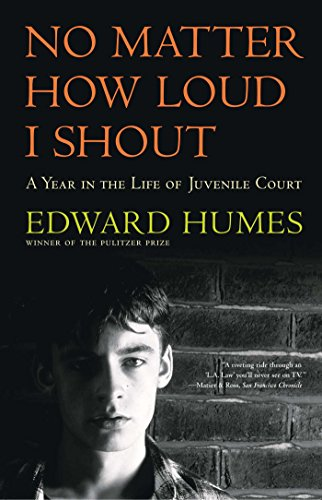 9780684811956: NO MATTER HOW LOUD I SHOUT : A Year in the Life of Juvenile Court