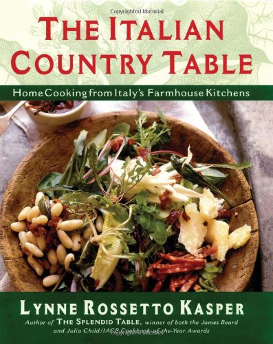 9780684813257: The Italian Country Table: Home Cooking from Italy's Farmhouse Kitchens