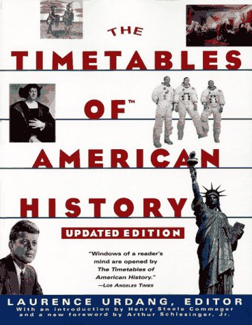 9780684814209: TIMETABLES OF AMERICAN HISTORY: UPDATED EDITION