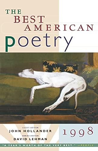 9780684814506: The Best American Poetry 1998