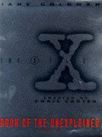 X Files Book of the Unexplained Volume 2 (Vol 2) (0684819635) by Jane Goldman