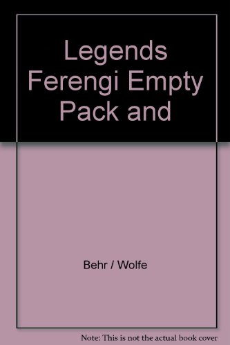 9780684820569: Legends Ferengi Empty Pack and
