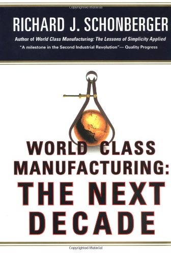 9780684823034: World Class Manufacturing: The Next Decade: Building Power, Strength, and Value