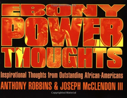 9780684824376: Ebony Power Thoughts: Inspirational Thoughts from Outstanding African Americans