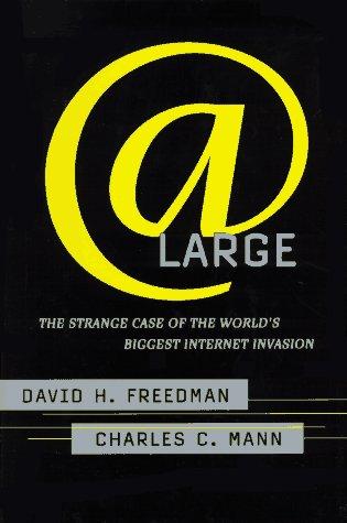 9780684824642: At Large: the Strange Case of the World's Biggest Internet Invasion