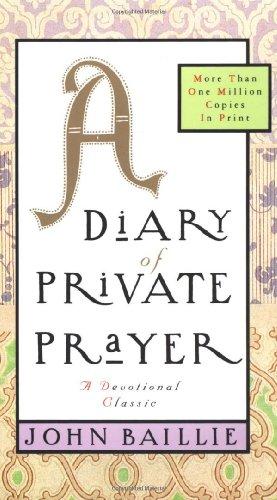 9780684824987: A Diary of Private Prayer