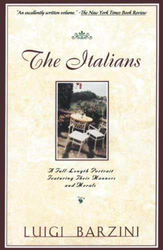 9780684825007: The Italians