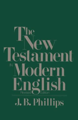 9780684826332: New Testament in Modern English