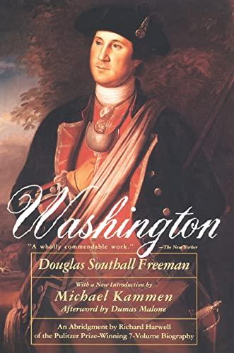 Washington: Freeman, Douglas Southall