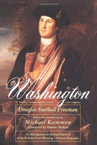 Washington (9780684826370) by Douglas Southall Freeman