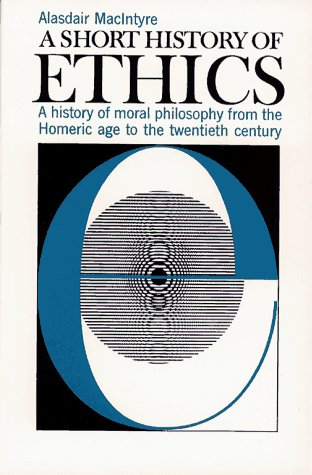 9780684826776: Short History of Ethics