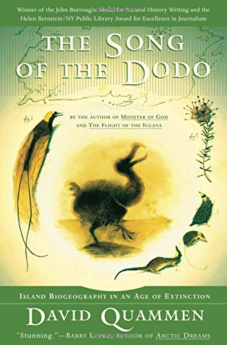 9780684827124: The Song of the Dodo: Island Biogeography in an Age of Extinctions