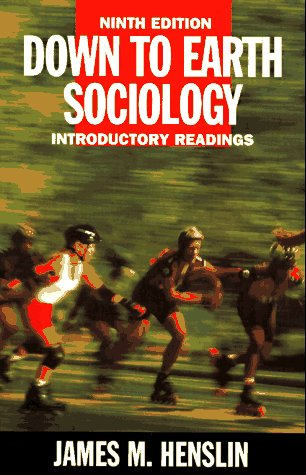 9780684829265: Down to Earth Sociology 9th Edition