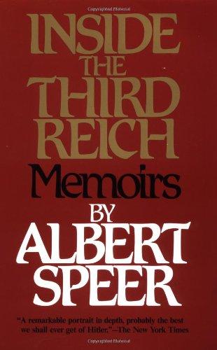 9780684829494: Inside the Third Reich: Memoirs